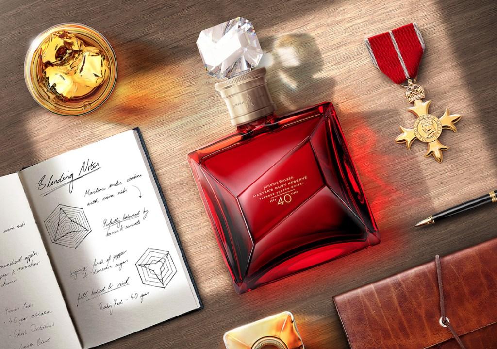 Johnnie Walker Master's Ruby Reserve: un whisky tan exclusivo que sólo 7 mexicanos lo podrán tener