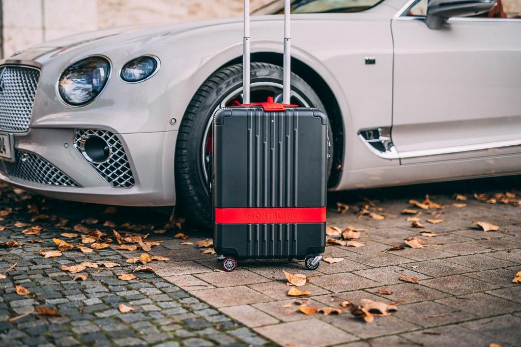 Montblanc y Pirelli lanzan una colección de maletas con neumáticos que no hacen ruido al moverse