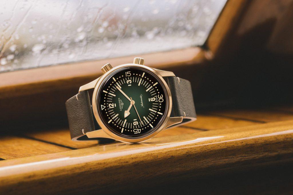 Los 60's están de regreso con el nuevo Legend Diver Watch de Longines 'vestido' de bronce