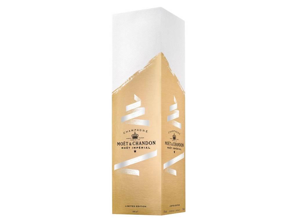 Regala una botella de champán personalizada en estas fiestas decembrinas con Moët & Chandon