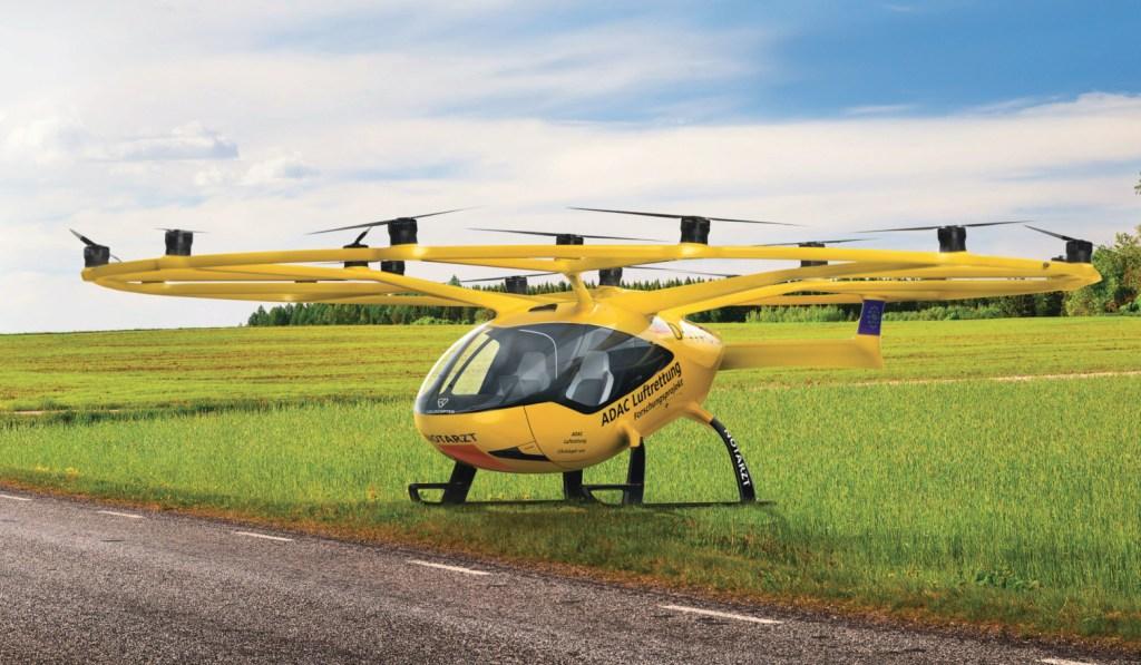 Volocopter prueba dron para rescates aéreos y emergencias