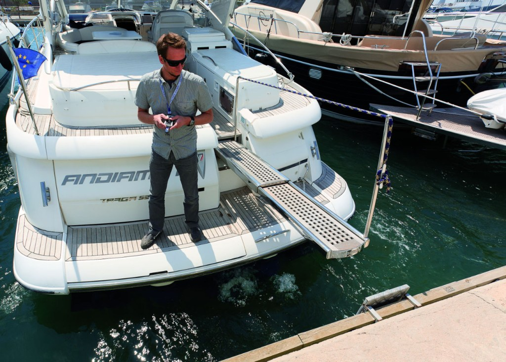 Yacht Controller, el gadget que revolucionó la industria de la navegación