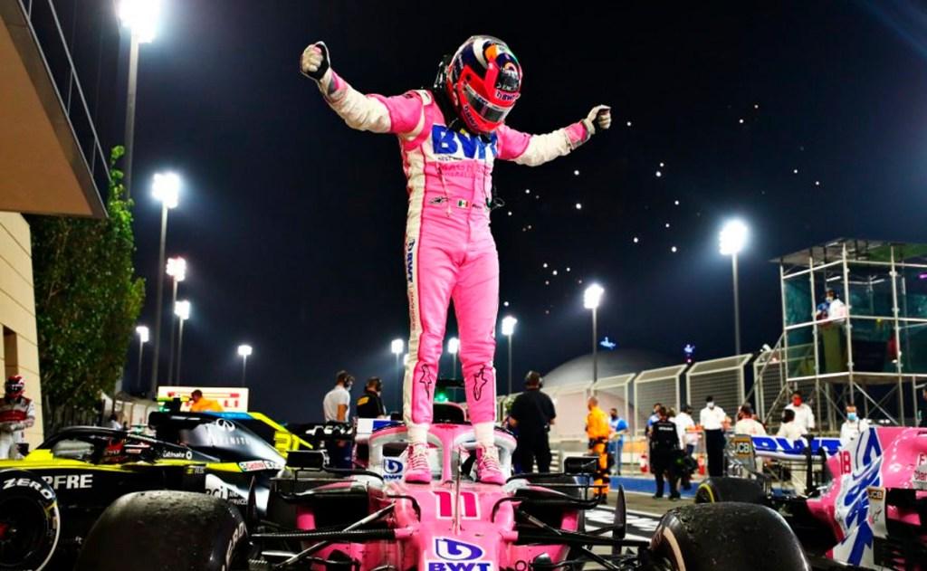 Del puesto 18 al primer lugar, así fue la primera victoria de Checo Pérez en F1
