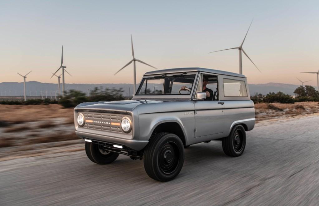 Zero Labs transforma cualquier clásico en un auto de energía limpia