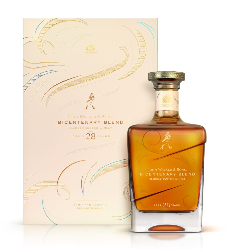 John Walker & Sons 28 años Bicentenary Blend