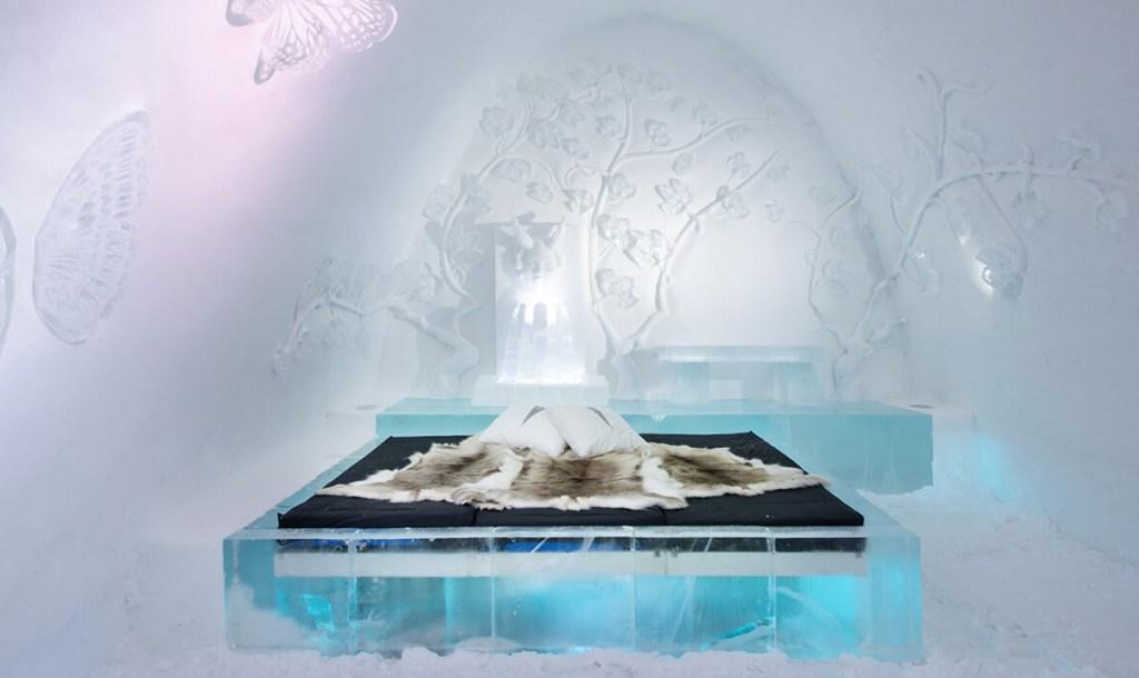 IceHotel, el hospedaje de hielo sueco, ya ofrece bookings y tours virtuales
