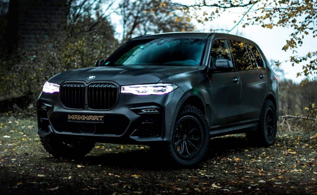 Esta BMW X7 modificada es perfecta para una aventura off-road