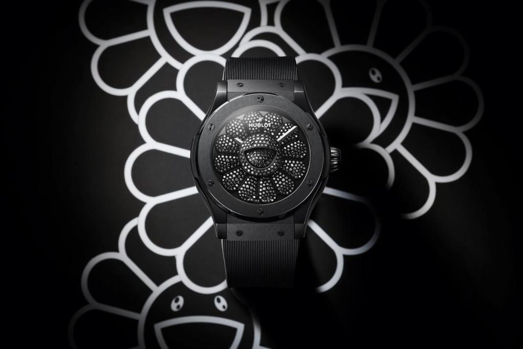 456 diamantes y una flor sonriente, así es el nuevo reloj de Hublot