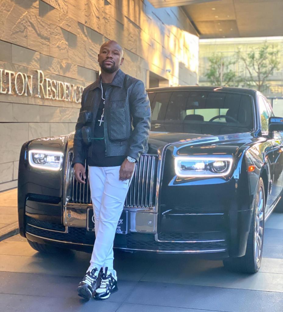 Floyd Mayweather se encuentra frente a la pelea más costosa de su vida: ganar la subasta de un automóvil de lujo