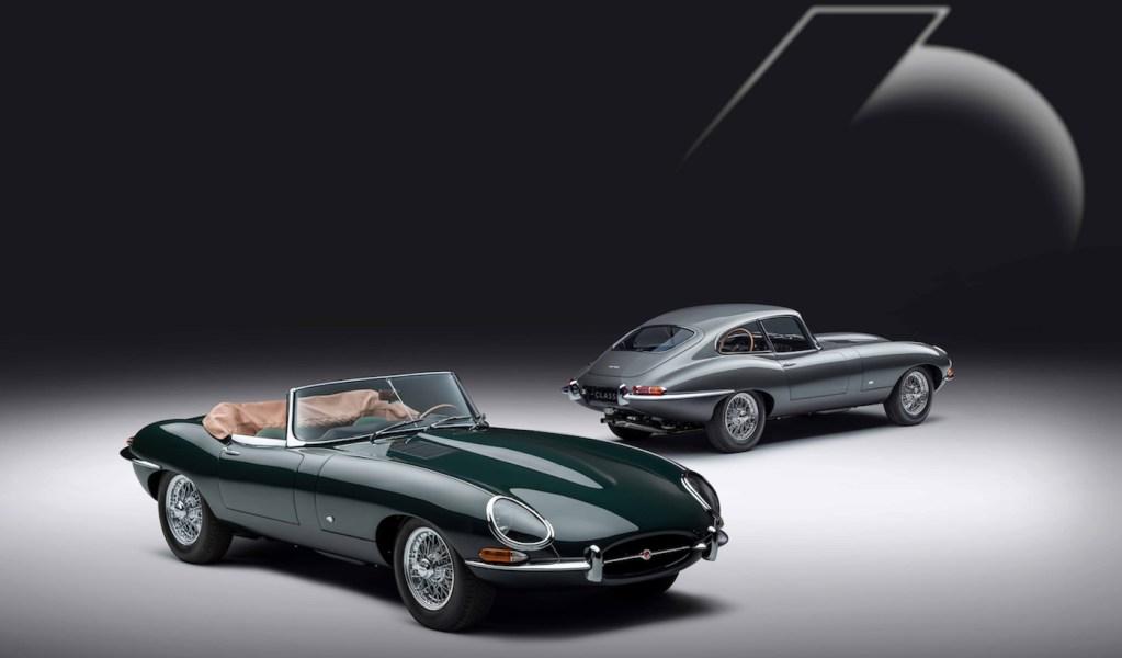Jaguar conmemora el 60º aniversario del  E-Type con una exclusiva edición limitada