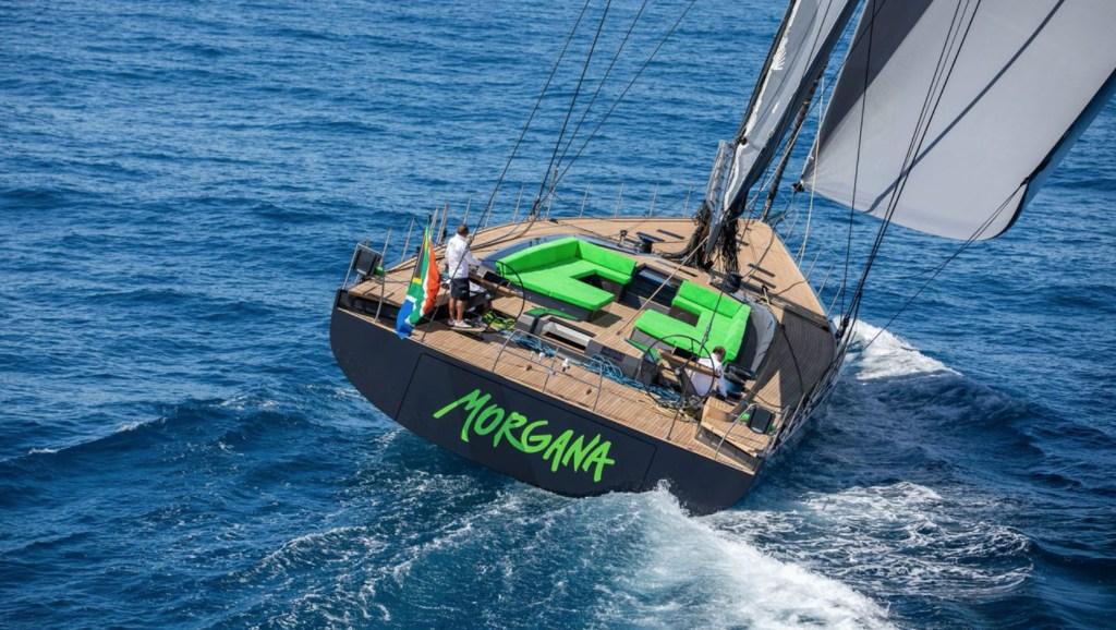 Conoce el nuevo superyate Morgana, de los creadores del velero más grande del mundo