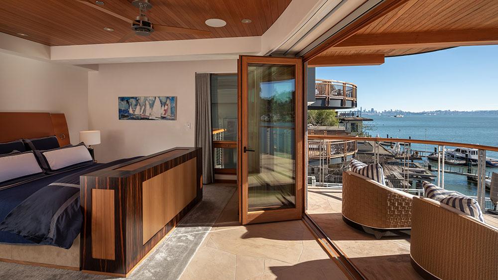 ¿Tienes un yate? Estaciónalo en esta mansión frente al mar de 15 mdd en San Francisco