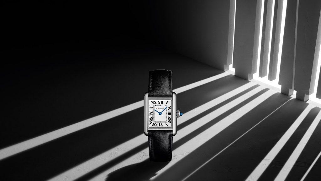 Cartier convierte uno de sus modelos más clásicos en su primer reloj solar y sustentable