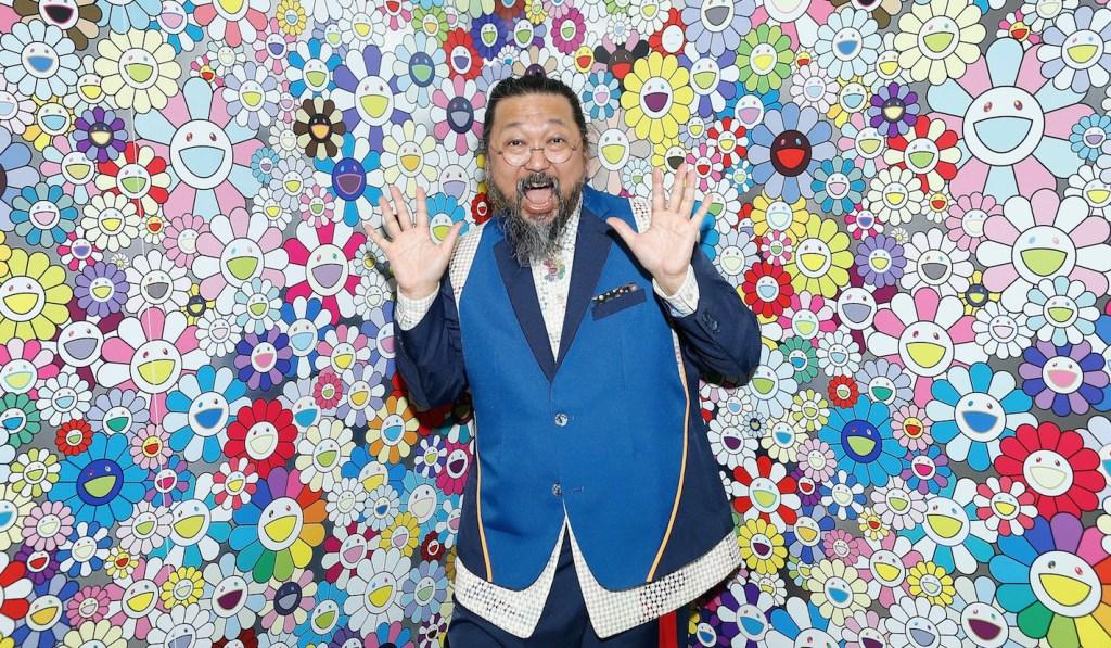 Takashi Murakami lanza su primer arte NFT con 108 variaciones de sus exclusivas flores