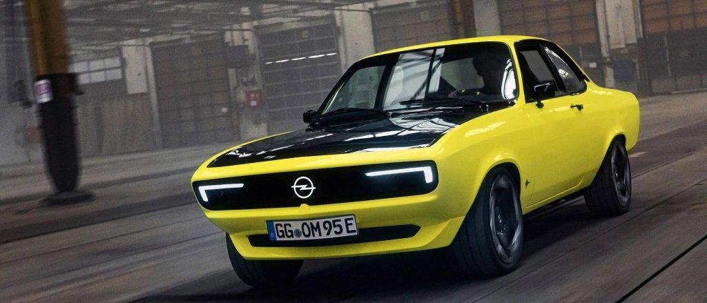 En regreso de la silueta clásica más electrizante, así es el Opel Manta GSe ElektroMOD