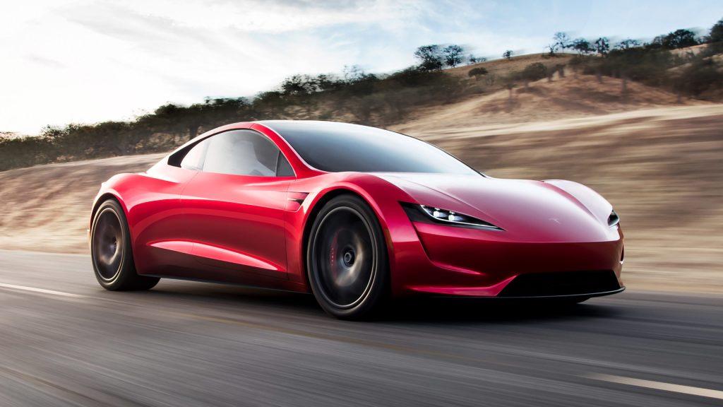 Propulsores de SpaceX podría hacer del Tesla Roadster el auto más rápido, incluso sobre el Bugatti Chiron