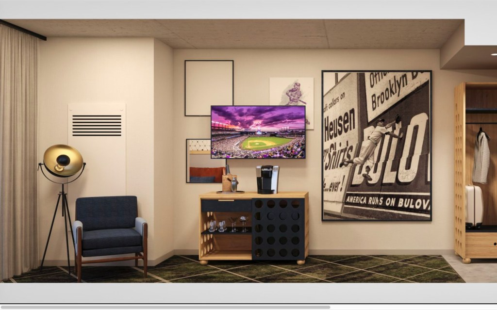 Denver se anota un home run con The Rally Hotel, un nuevo hospedaje para amantes del béisbol
