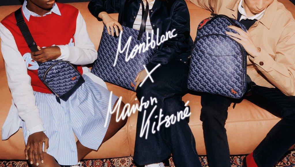 Montblanc x Maison Kitsuné celebran hacer las cosas diferentes con su nueva colección