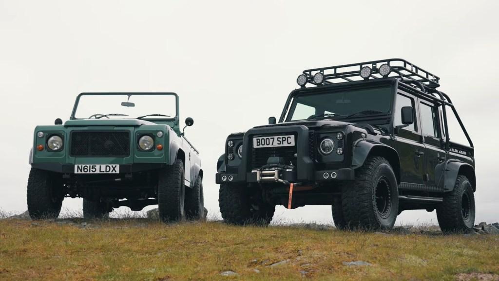 Land Rover Defender por fuera, Tesla Model S por dentro, esta camioneta es lo mejor de dos mundos