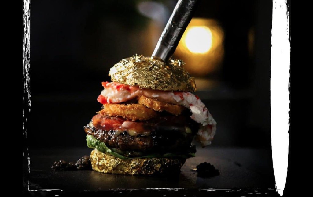 Carne wagyu, caviar de beluga y jamón ibérico, ingredientes de la hamburguesa más cara del mundo