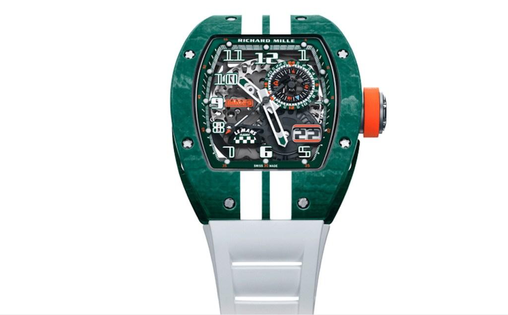 Richard Mille celebra el regreso de la famosa carrera de Le Mans Classic con este reloj