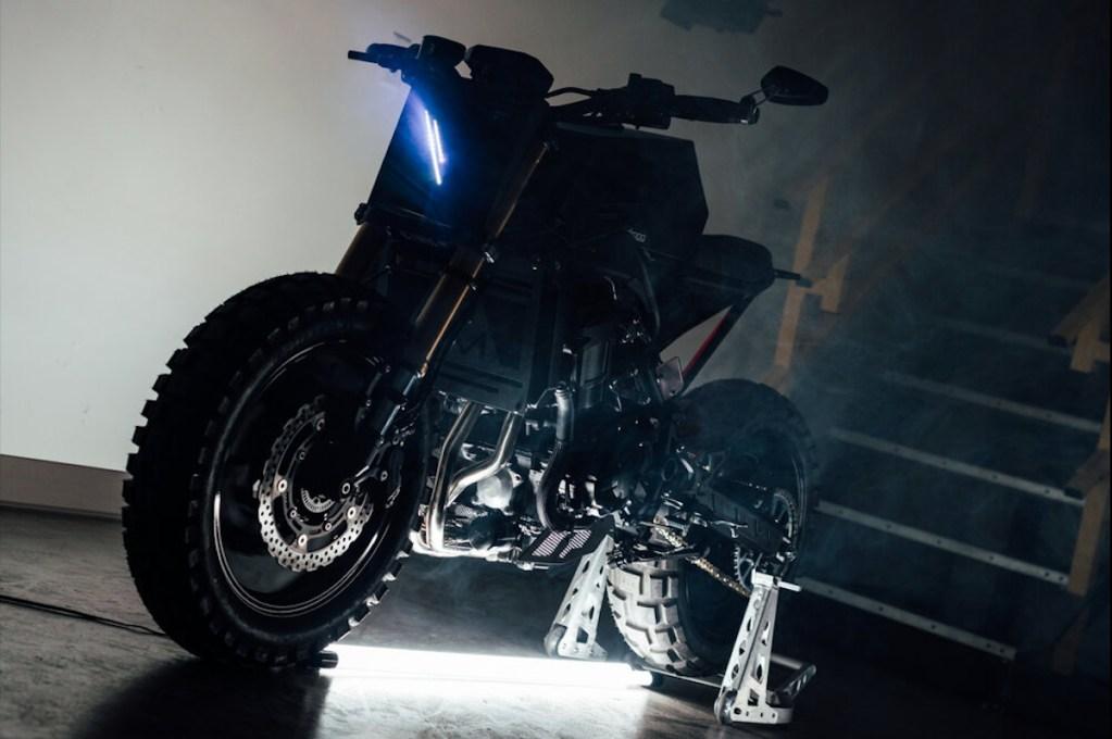 La nueva V2 Urban Fighter de Droog Moto es pura rudeza sobre ruedas