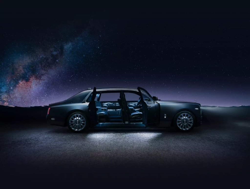 Conoce el Rolls-Royce Phantom Tempus, el auto que rinde homenaje a las estrellas de neutrones
