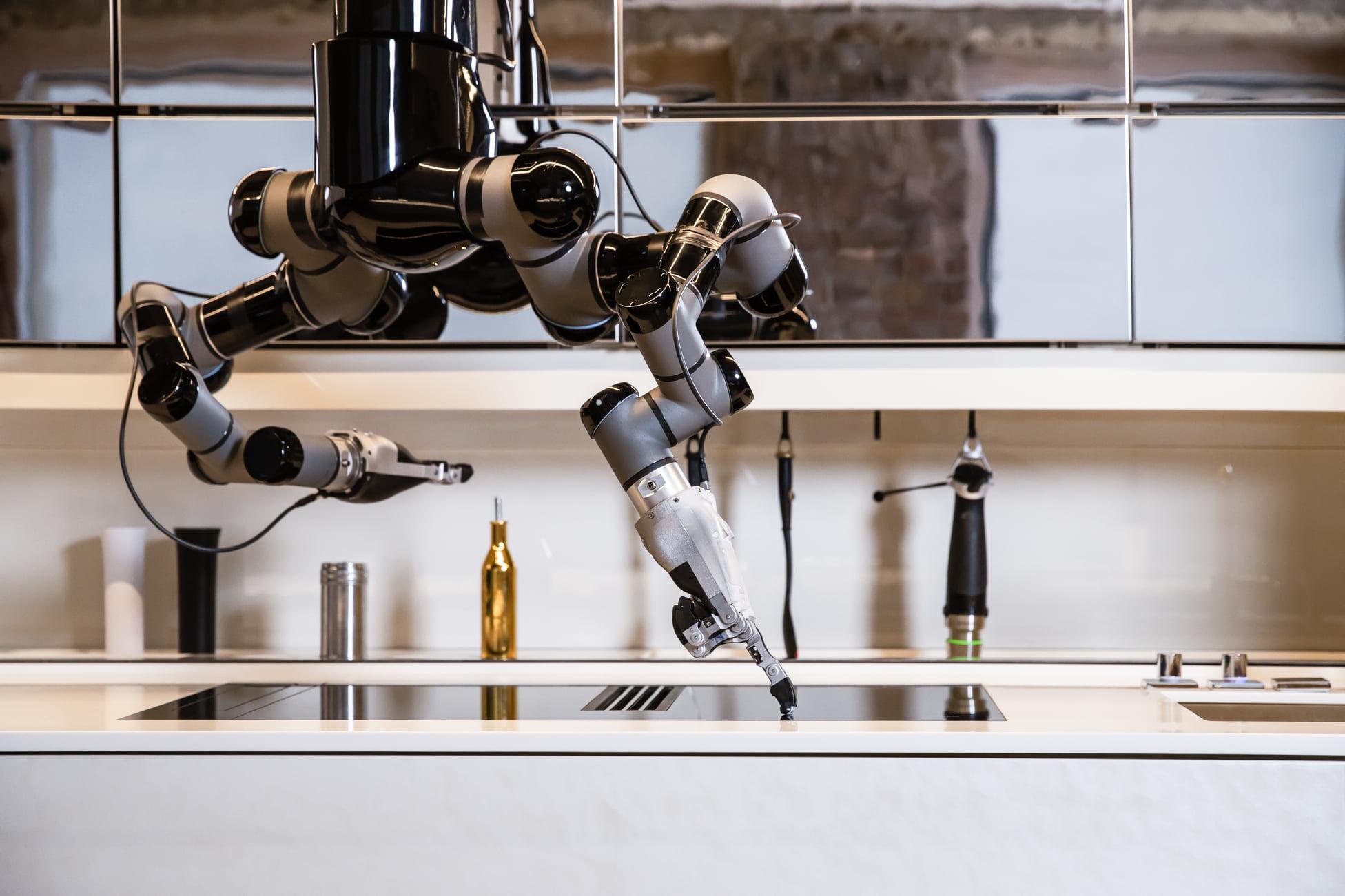 robot que cocina