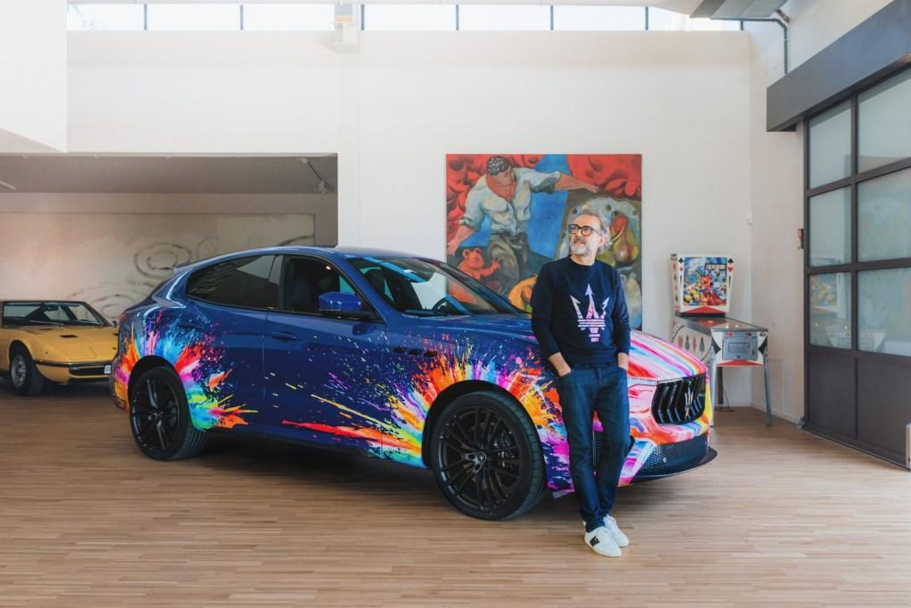 Esto pasa cuando unes la creatividad de Massimo Bottura con la ingeniería de Maserati