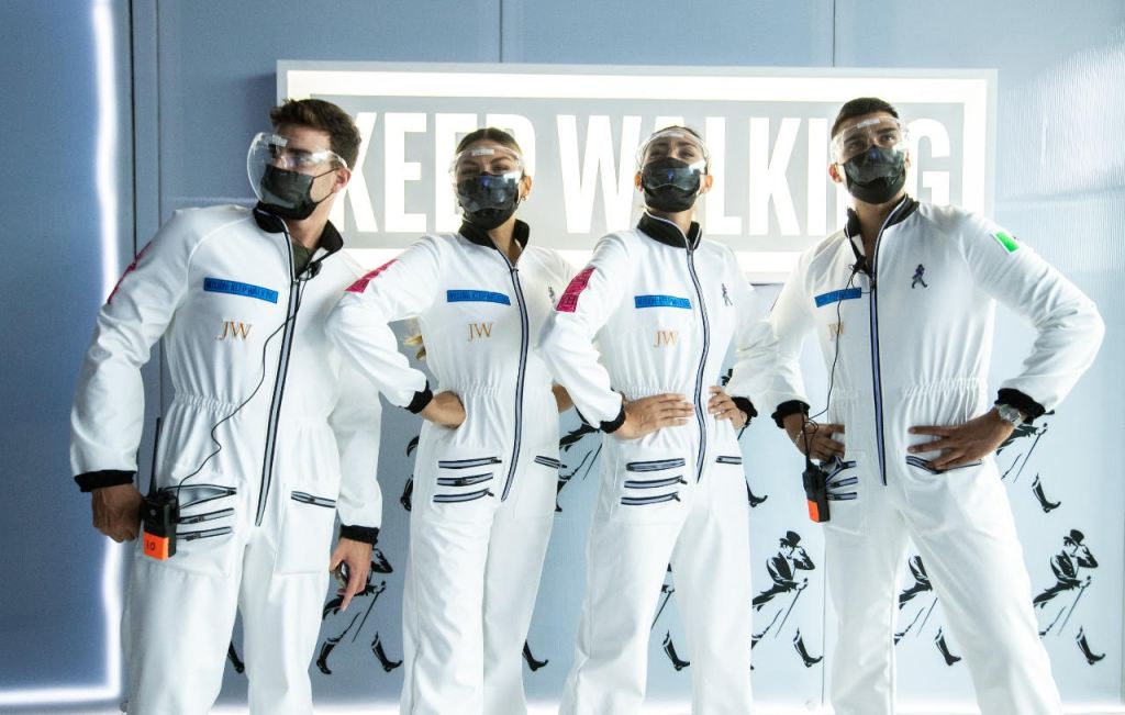 En tiempos de viajes espaciales, Johnnie Walker te trae de vuelta a la Tierra con The Comeback Experience