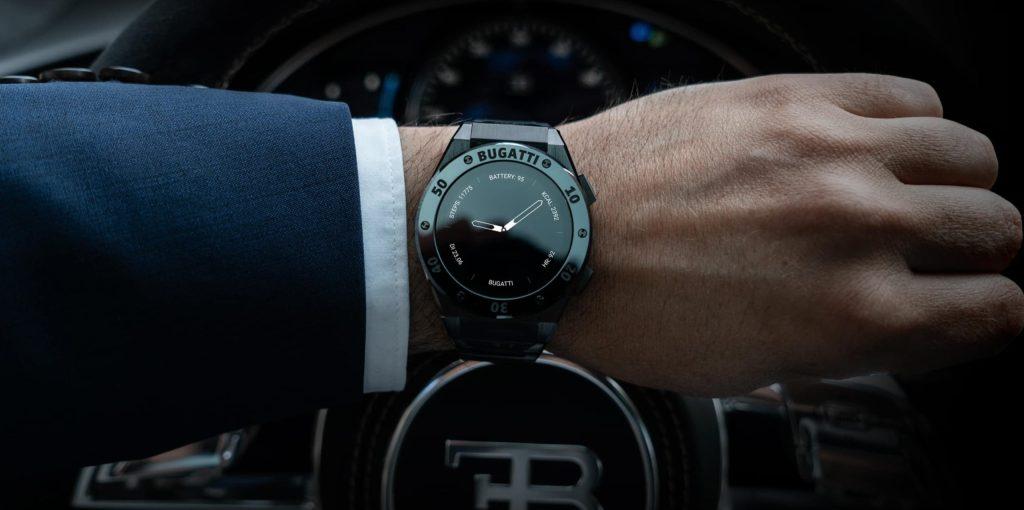 El smartwatch de Bugatti ofrece casi tantas funciones como el Chiron