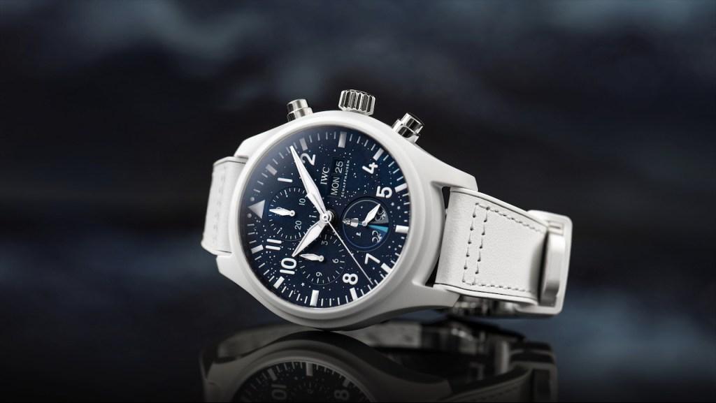 """IWC apoya la 1ª misión espacial tripulada por civiles: """"Inspiration4"""", con estos relojes"""