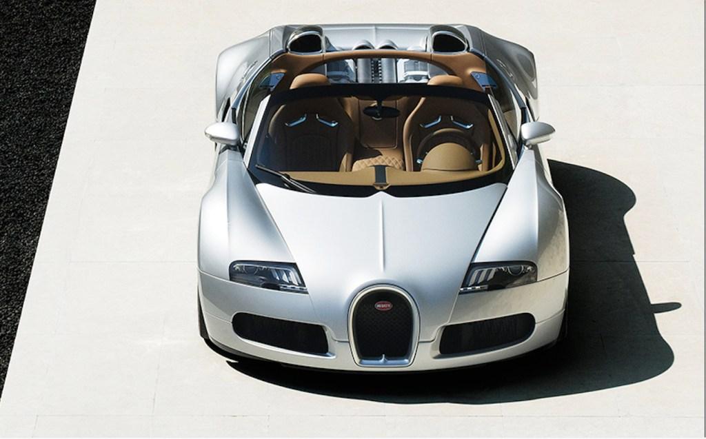 Directo del 2008, así luce el primer auto restaurado por Bugatti: el Veyron 16.4 Grand Sport