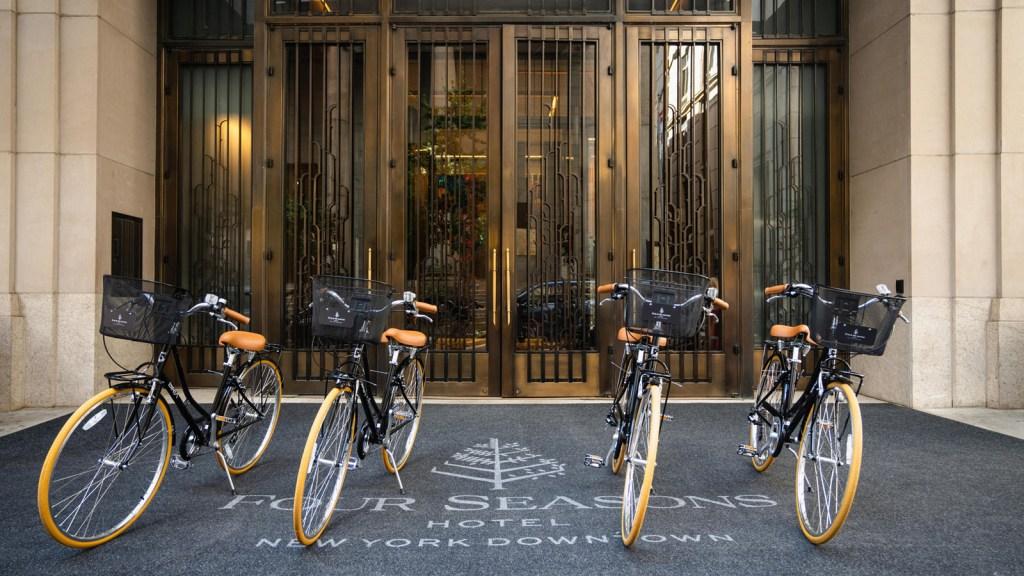 Dale la vuelta a todo Manhattan con «Bike The City» del Four Seasons Hotel