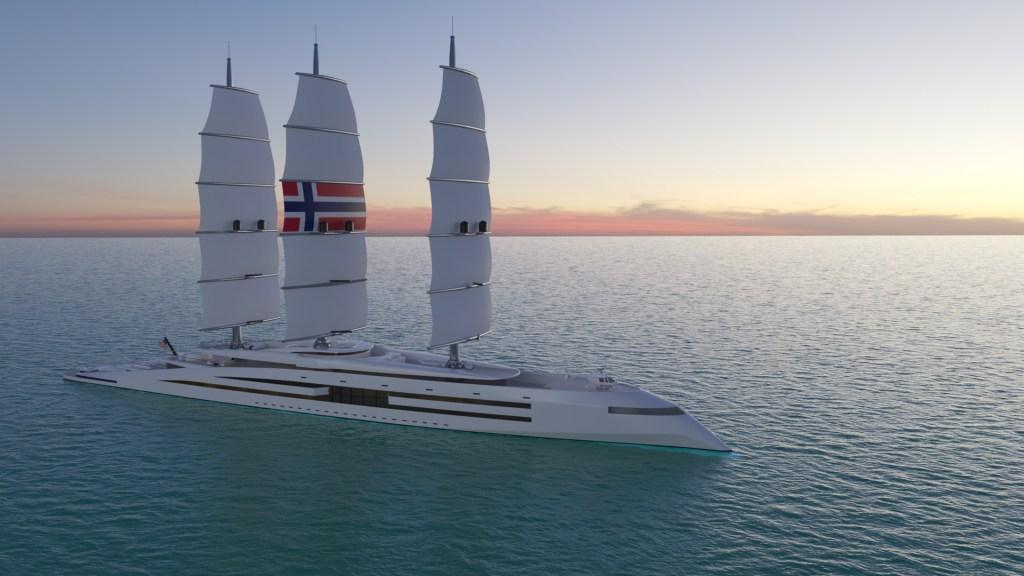 Así es Norway, un barco vikingo traído a nuestro tiempo, con cero emisiones