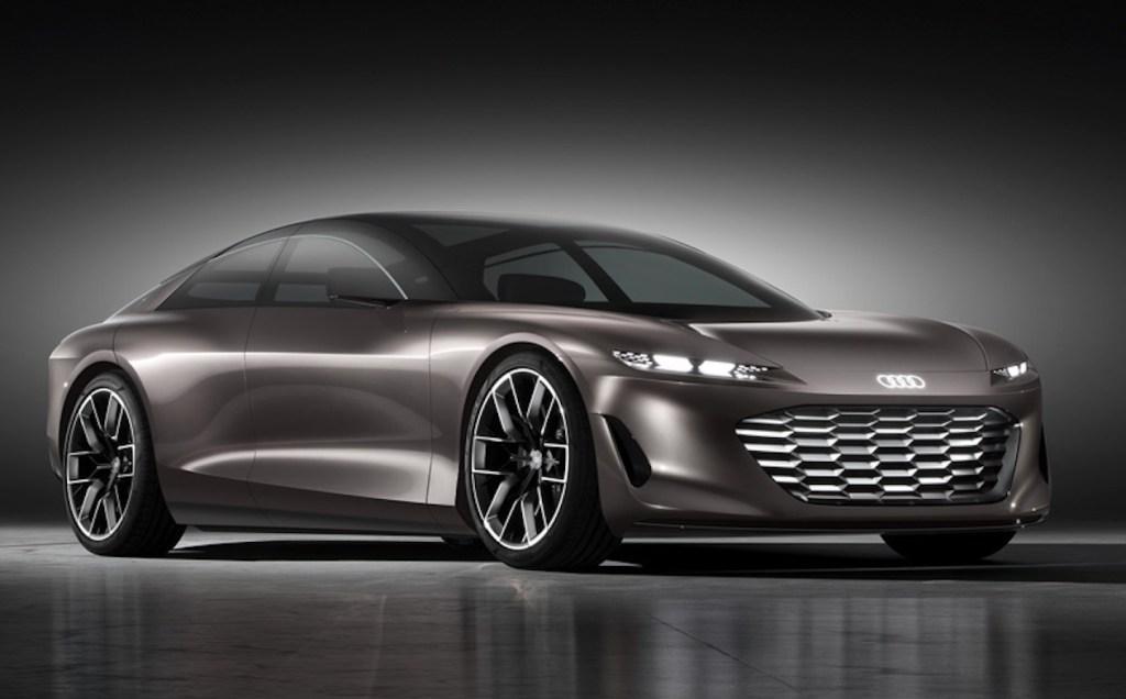 Grandsphere EV de Audi, un musculoso GT inspirado en las cabinas de primera clase de un avión