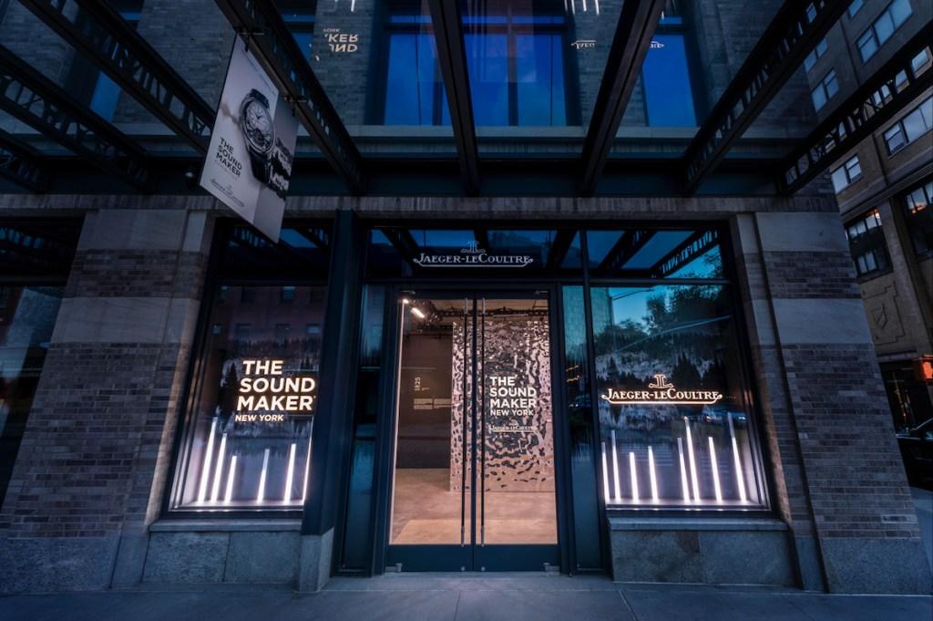 Jaeger-Lecoultre inaugura en NY The Sound Maker, una expo sobre el sonido del tiempo