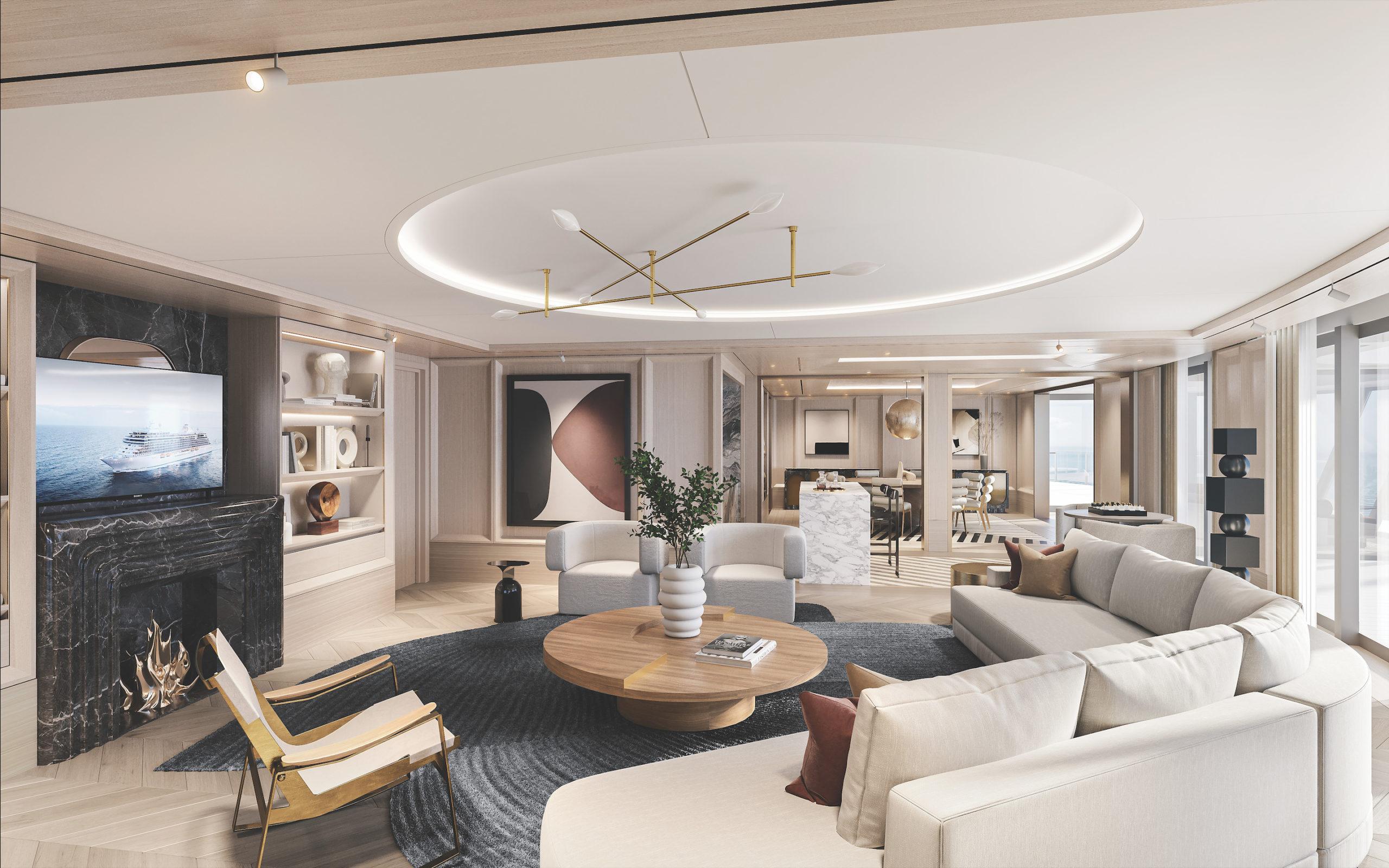 Regent Seven Seas Cruises ofrece la suite más lujosa en altamar por 11 mil dólares la noche