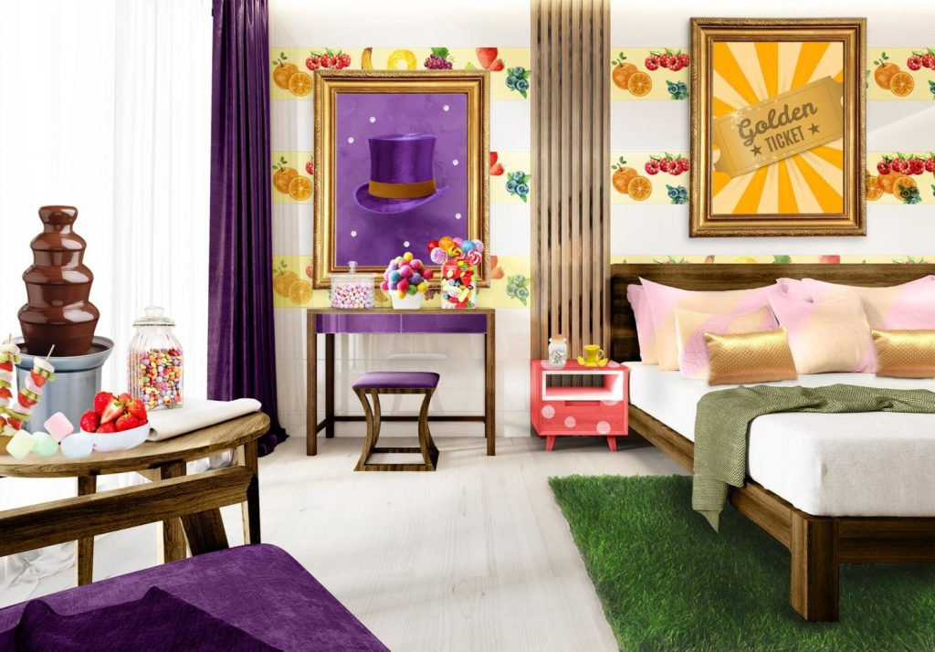 Willy Wonka The Chocolate Box Hotel