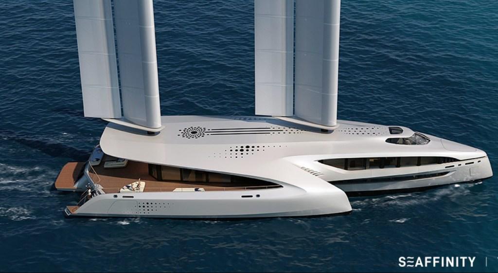 Cero emisiones, silencioso e inspirado en las gaviotas, así es Seaffinity, el nuevo trimarán de VPLP