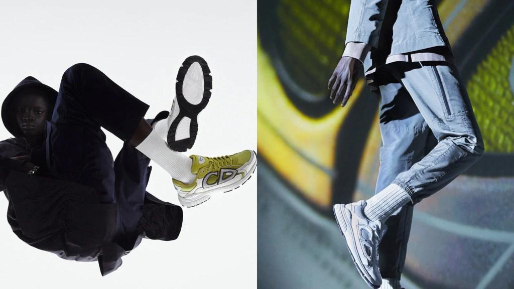 Los nuevos sneakers B30 de Dior son un homenaje al mundo del running y vas a querer correr a comprarlos