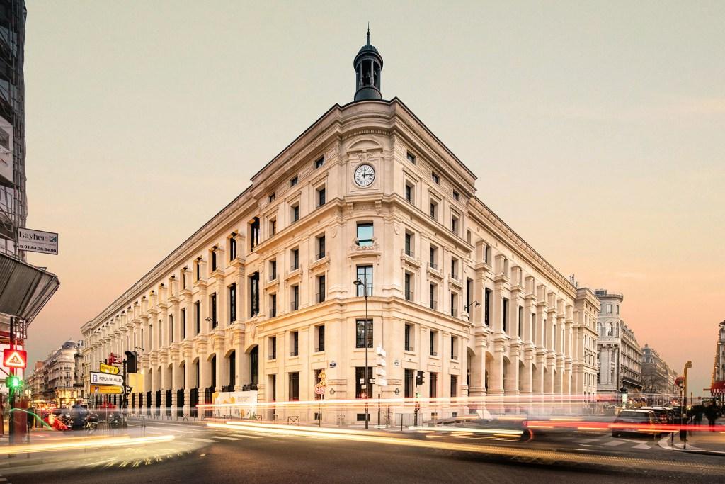 Al interior del edificio de correos del Louvre estará el nuevo  y lujoso Hotel Madame Rêve