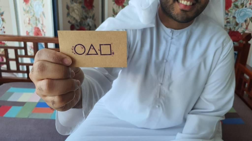 EL JUEGO DEL CALAMAR ABU DHABI