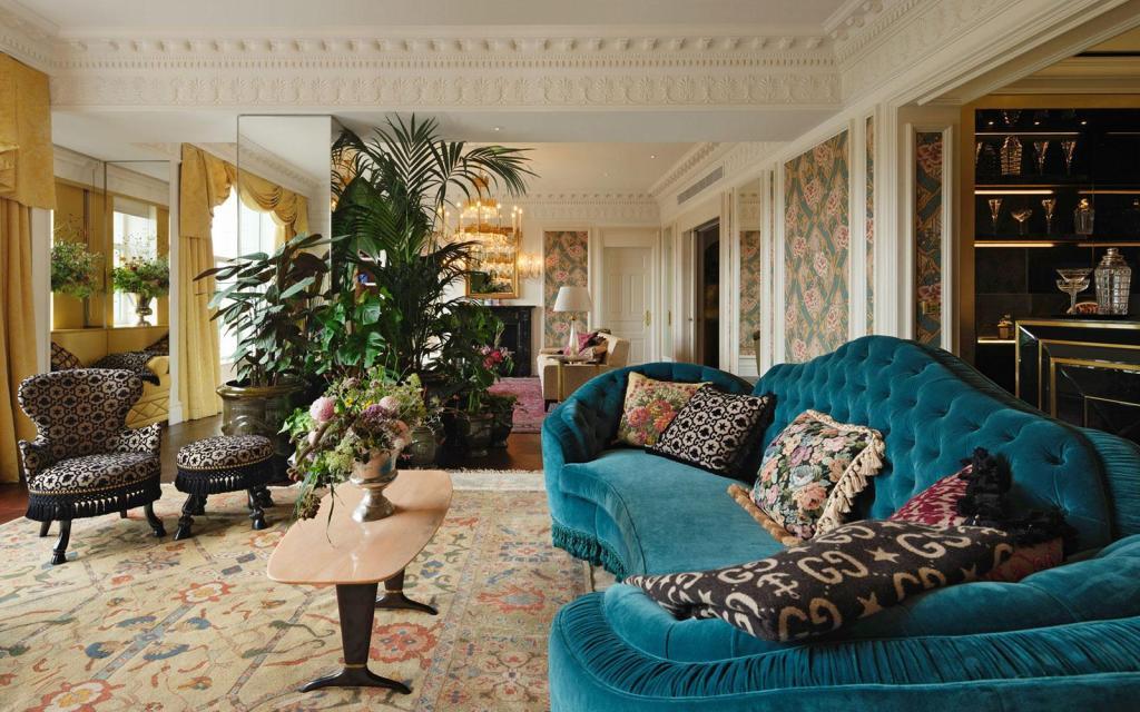 Así es como Gucci diseñó la Royal Suite del hotel The Savoy