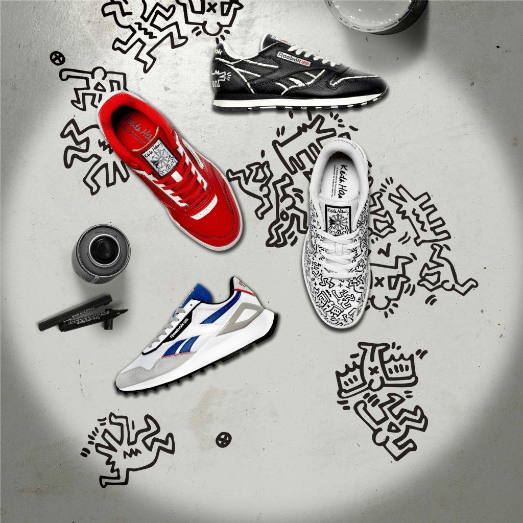 El arte urbano de Keith Haring transforma a los sneakers más icónicos de Reebok