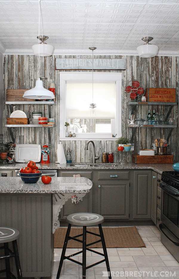 Vintage Farmhouse Kitchen Reveal