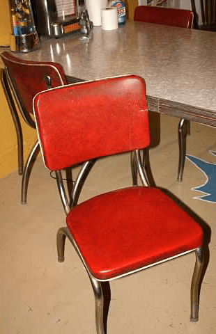 Retro Kitchen Table And Chairs Set