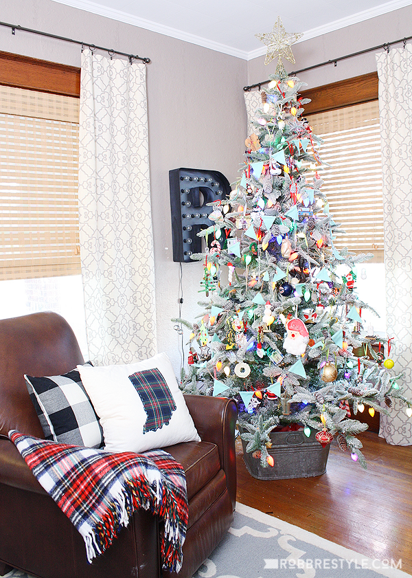 vintage holiday home tour
