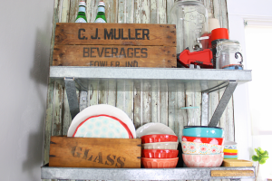 creative ways to use vintage boxes