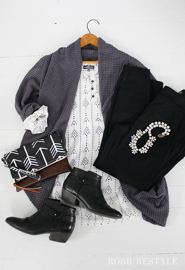 Stitch Fix Cardigan Outfit Idea